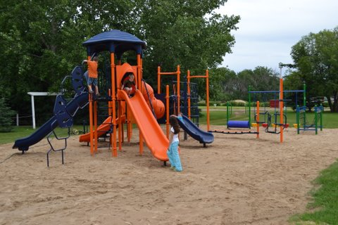 Newly Renovated Playground